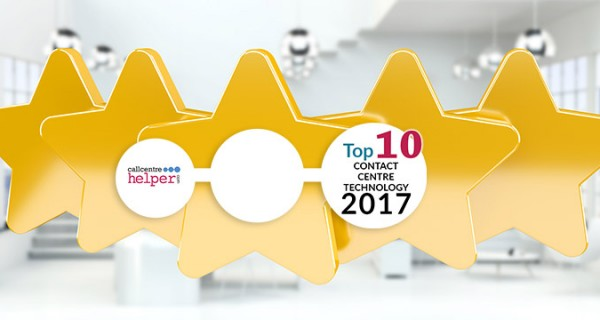 NewVoiceMedia's ContactWorld named best contact centre solution in Top 10 Technology Awards
