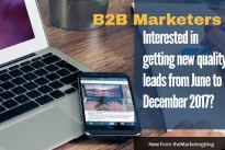 B2B Marketers : Need more leads from prospects from June to December?