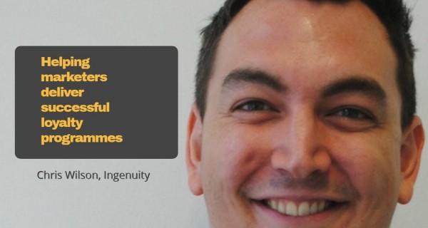 Brand partnerships: unlocking customer loyalty .. Chris Wilson, Ingenuity