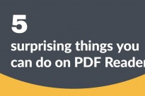 5 surprising things you can do on PDF Reader