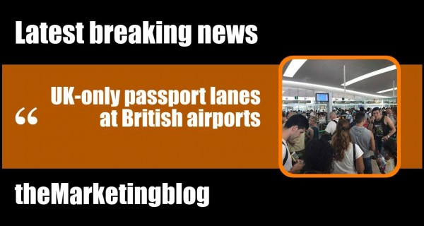 Will there be UK-only passport lanes at British airports?