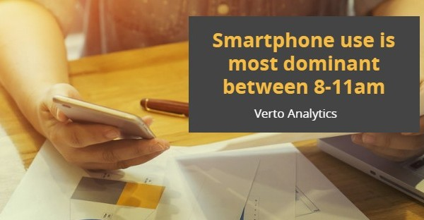 Research : Smartphones now twice as popular as PCs for going online …Verto Analytics