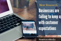 Contact centre technology research finds businesses are failing to keep up with customer expectations