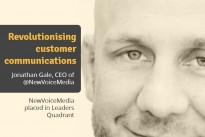 NewVoiceMedia placed in Leaders Quadrant for its completeness of vision and ability to execute