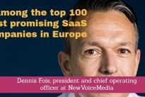 NewVoiceMedia recognised among top 100 most promising SaaS companies in Europe