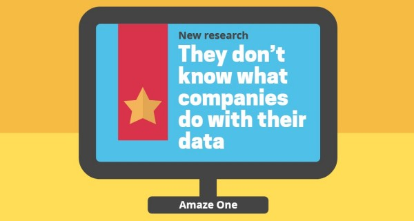 32% of consumers are currently reluctant to share more than their name and email address : Survey by Amaze One