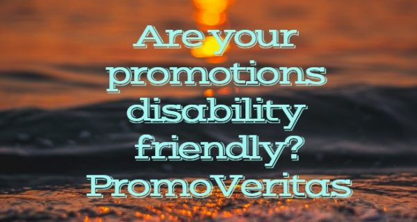 PromoVeritas  … The important issue of disability discrimination and rights