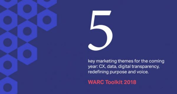 """New research :  """"Five key marketing challenges for 2018"""""""