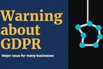Warning about GDPR :  Customer data could become a major issue