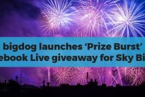 bigdog launches 'Prize Burst' Facebook Live giveaway for Sky Bingo