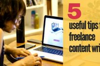 Top 5 useful tips for freelance content writers .. [Exclusive]