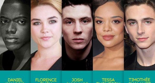 Awards : The nominees for the EE Rising Star Award at BAFTA 2018
