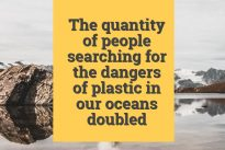 *Data alert* – Blue Planet II's role in awareness of plastic in oceans revealed