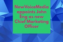 Movers and Groovers : NewVoiceMedia appoints John Eng as new Chief Marketing Officer