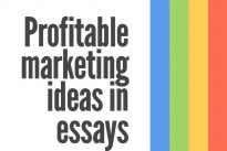 Exclusive : Profitable marketing ideas from college essay