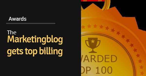 "We are 'chuffed' :  TheMarketingblog gets top billing in the ""Best UK Marketing Blogs list"""