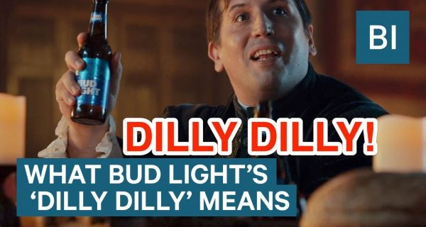 [Watch] You no longer say 'Cheers' you say 'Dilly Dilly' …. @budlight / brand new ATL campaign
