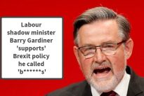 Caught lying :  The main tweets about the Barry Gardiner affair