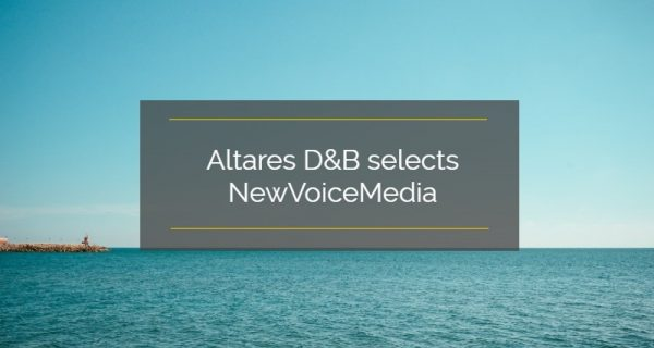 Altares D&B selects NewVoiceMedia to create exceptional, emotive customer experiences