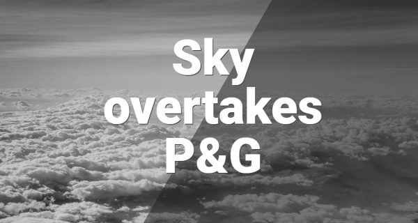 Research : Sky overtakes P&G as biggest traditional ad spender … Nielsen