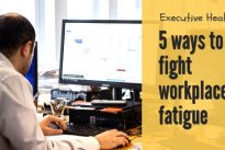 "Executive Health : ""Do you suffer from office fatigue due to lack of sleep?"""