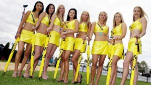 motorsport grid girls
