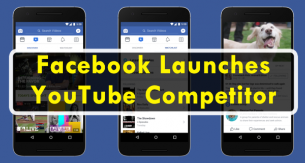 Comment : Facebook launches video service, Watch