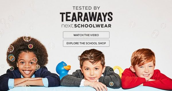 'Tearaways' …  Prepare your school wear for next term  –  #retail