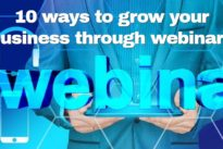 10 ways to grow your business through webinars