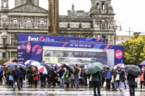 Experiential … 'All Aboard' as world's largest model bus arrives in Glasgow