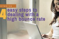 4 easy steps to dealing with a high bounce rate