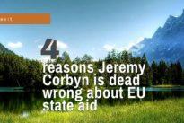 Jeremy Corbyn says EU state aid rules make no sense
