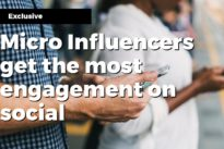 Micro Influencers get the most engagement on social