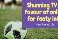Young football fans shunning TV in favour of online for footy info