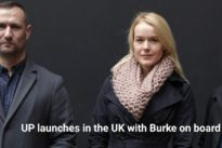 UP launches in the UK with Burke on board – 'Movers and Groovers'