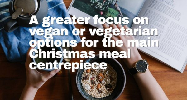 Shoppers Research : 48% agree that food and drink is the most important part of Christmas Day