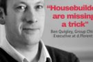 Consumer Research : UK housebuilders failing to communicate