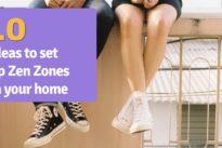 10 ideas to set up Zen Zones in your home