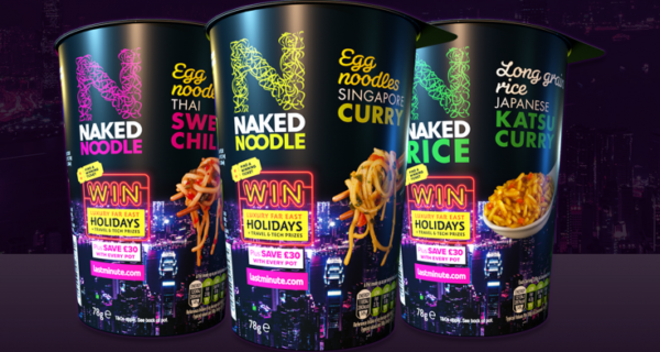"""Naked Noodle : """"Nice match, fast oriental noodles and fast last minute holidays"""""""