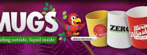 Printed mugs by Promo Parrot [exclusive]