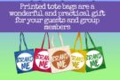 Printed tote bags for your event or group