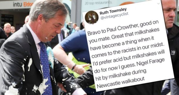 Should Nigel Farage be attacked with acid?