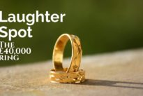 Laughter Spot : The one about the £40,000 ring