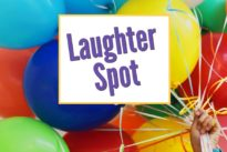 """Laughter Spot : """"The one about the older woman in the bar"""""""