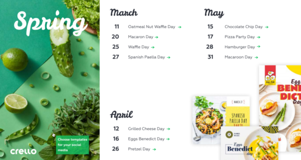 Online templates : How to help celebrate 'food occasions'