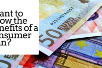 Want to know the benefits of a consumer loan? Find out here