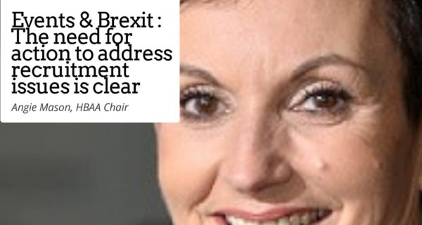 HBAA : Half of UK events venues and agents have not prepared for 'no-deal' Brexit