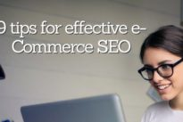 9 tips for effective e-Commerce SEO