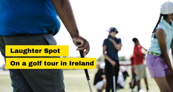 Golfing Laughter Spot : The one about Tiger in Ireland