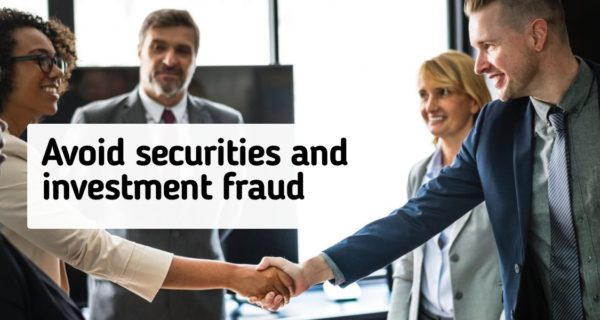 The best tips and tricks to help avoid securities and investment fraud